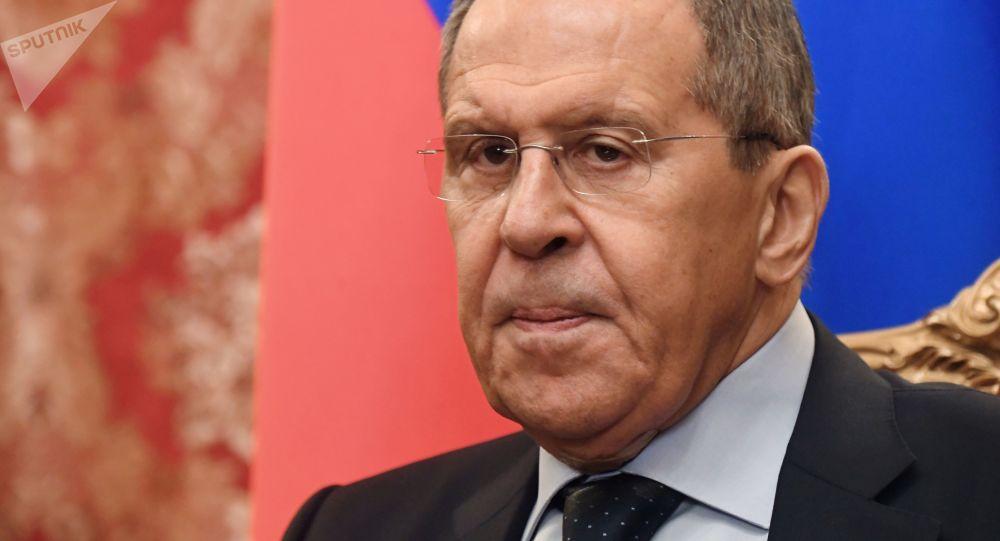 وزير الخارجية الرزوسي سيرغي لافروف، 23 ديسمبر 2019