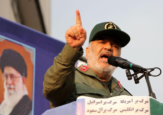 قائد الحرس الثوري الإيراني حسين سلامي