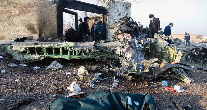 إيران تتخذ أول إجراء ضد العسكريين المتورطين في تحطم الطائرة الأوكرانية