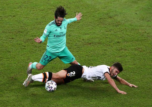 مباراة ريال مدريد وفالنسيا في السوبر الإسباني