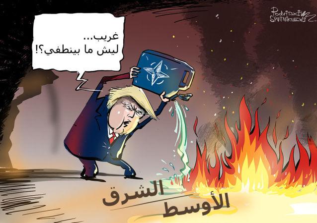 ليسود الأمن والسلام...ترامب يرغب في توسيع الناتو ليشمل منطقة الشرق الأوسط