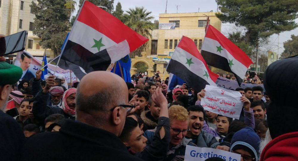 عشائر الحسكة وفعالياتها تطالب أمريكا بمغادرة سوريا فورا