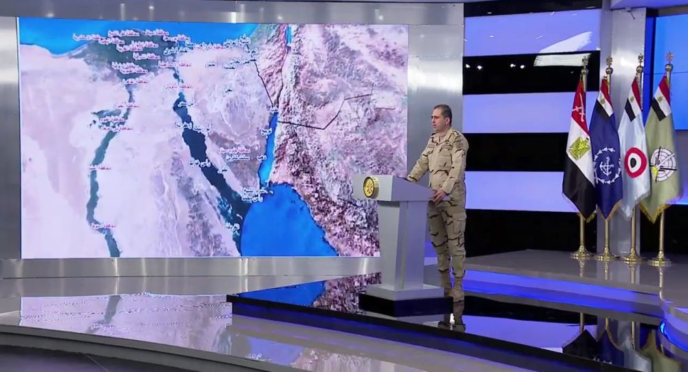 العميد تامر الرفاعي المتحدث العسكري للقوات المسلحة المصرية
