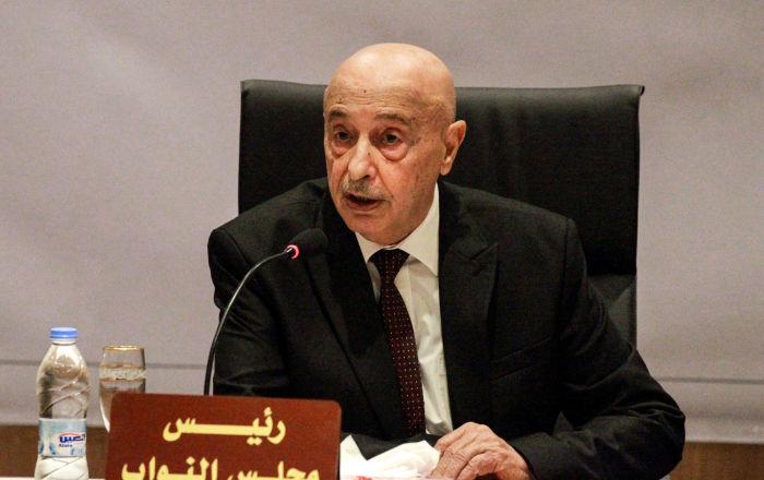 عقيلة صالح يصل الجزائر في زيارة مفاجئة