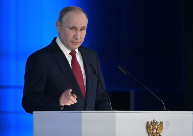 الرئيس فلاديمير بوتين يوجه رسالته السنوية إلى الجمعية الفيدرالية، 15 يناير 2020