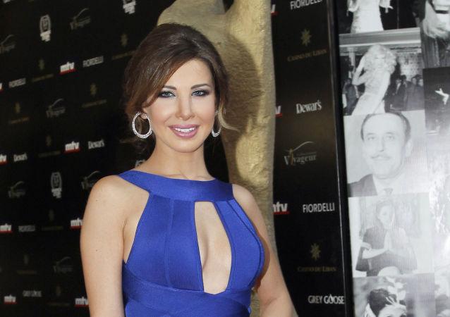 الفنانة اللبنانية نانسي عجرم
