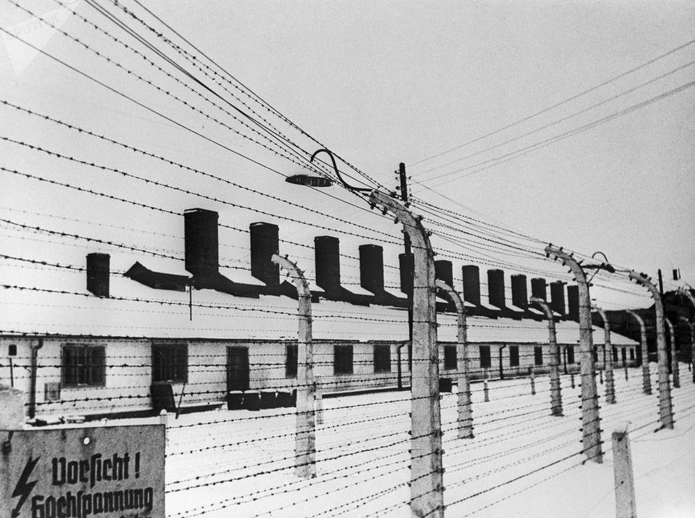 ثكنات معسكر أوشفيتز النازي في بولندا