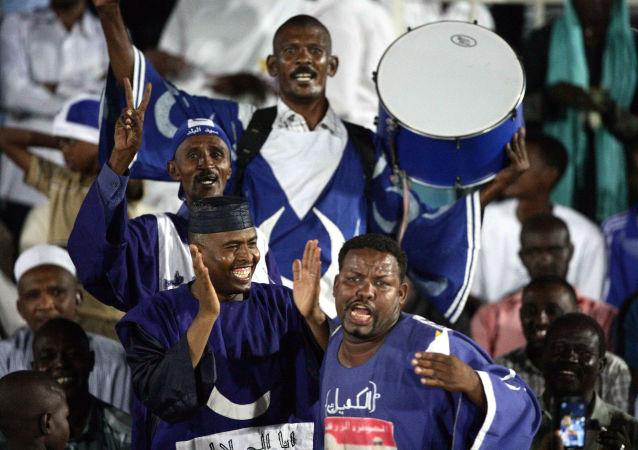 جماهير فريق الهلال السوداني