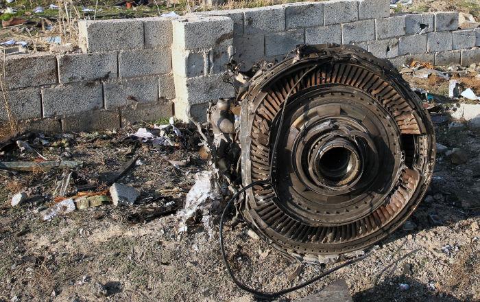 تحطم طائرة على متنها 110 ركاب بولاية غزني شرقي أفغانستان