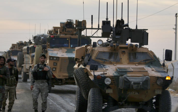 إنزال عسكري تركي على الأراضي العراقية