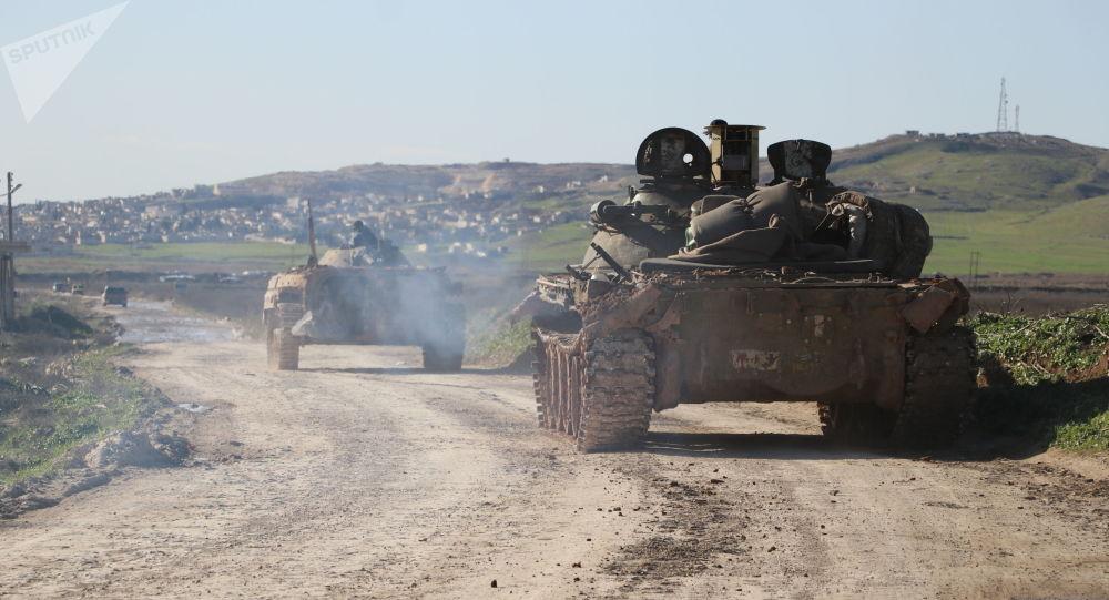 الجيش السوري ينتشر في تلة العيس واتستراد أم فور
