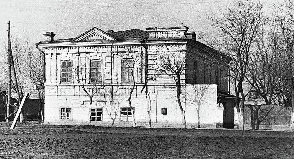 دار الأيتام في ييسك، الذي قام النازيون بإعدام أطفاله