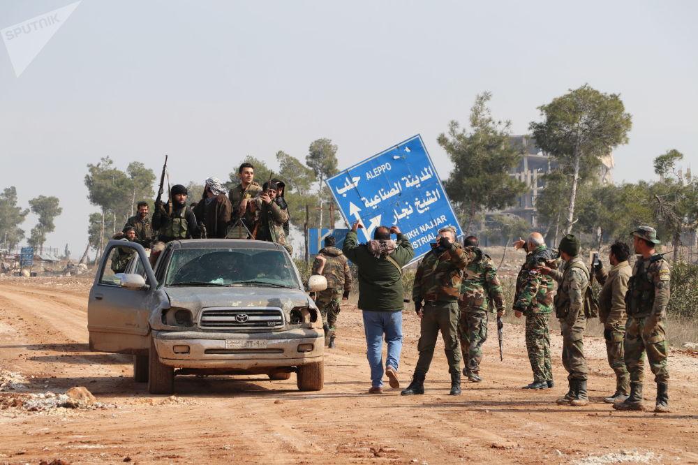 سبوتنيك ترصد مدخل أوتستراد (M5) الدولي بعد تطهيره من النصرة