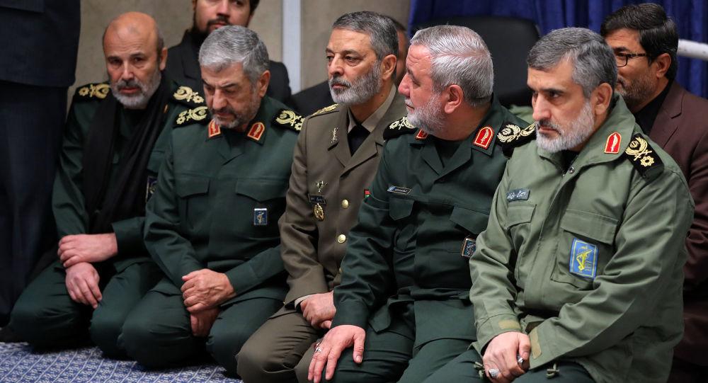 قادة إيرانيون في الحرس الثوري الإيراني