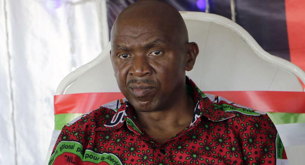 رئيس الجمعية الوطنية في بوروندي أغاثون رواسا خلال المشاركة في المؤتمر الوطني للحزب