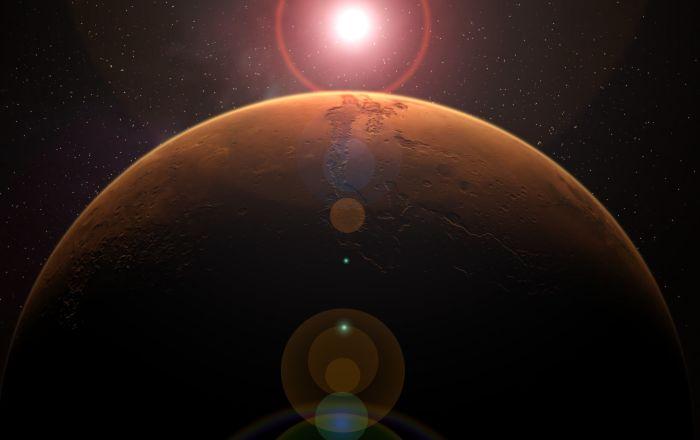 """""""ناسا"""" تكرم الأطباء بلوحة تذكارية على كوكب المريخ… فيديو"""