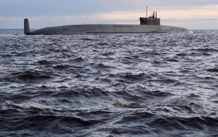 """غواصة """"كنياز فلاديمير"""" تنهي اختباراتها في البحر الأبيض"""