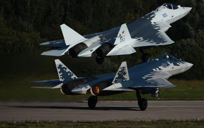 """تطوير أسلحة جديدة لمقاتلة """"سو-57"""""""