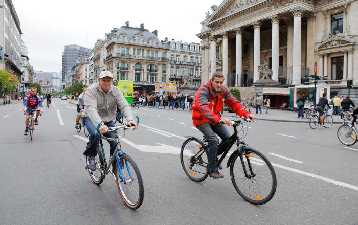 بروكسل… طريقة مبتكرة لمحاربة سرقة الدراجات