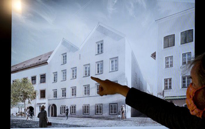 النمسا تعلن تحويل المنزل الذي ولد فيه هتلر إلى مركز للشرطة… فيديو وصور